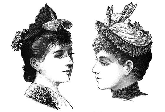 Sombreros Del Siglo Xix