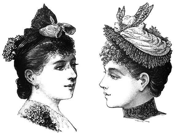 Sombreros Siglo Xix